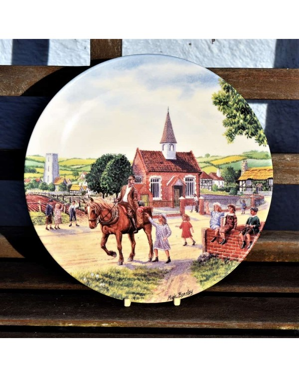 ROYAL DOULTON THE FAREWELL COLLECTORS PLATE