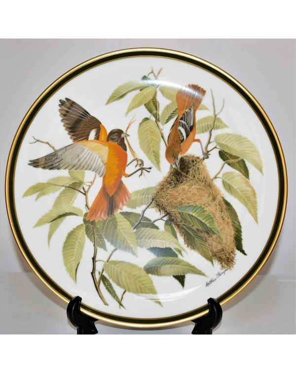 FRANKLIN MINT SONGBIRDS OF THE WORLD ORIOLE