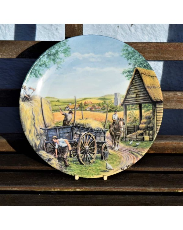 ROYAL DOULTON THE FARM COLLECTORS PLATE