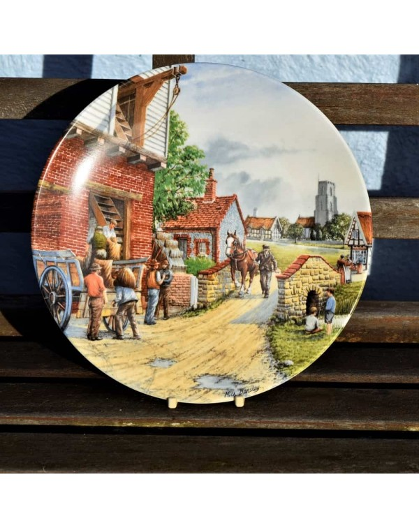 ROYAL DOULTON THE WATER MILL COLLECTORS PLATE
