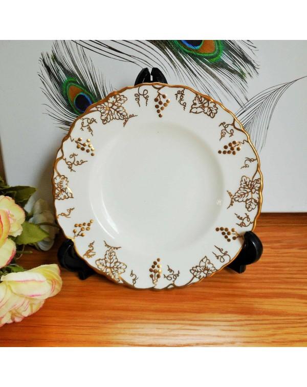 ROYAL CROWN DERBY VINE TEA PLATE