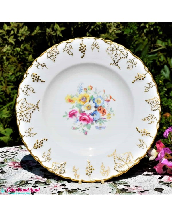ROYAL CROWN DERBY VINE DINNER PLATE