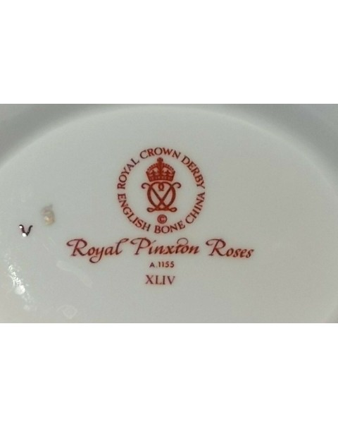 (SOLD) ROYAL CROWN DERBY ANTOINETTE TEAPOT