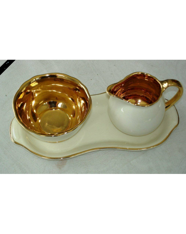CROWN DEVON SUGAR & CREAM SET