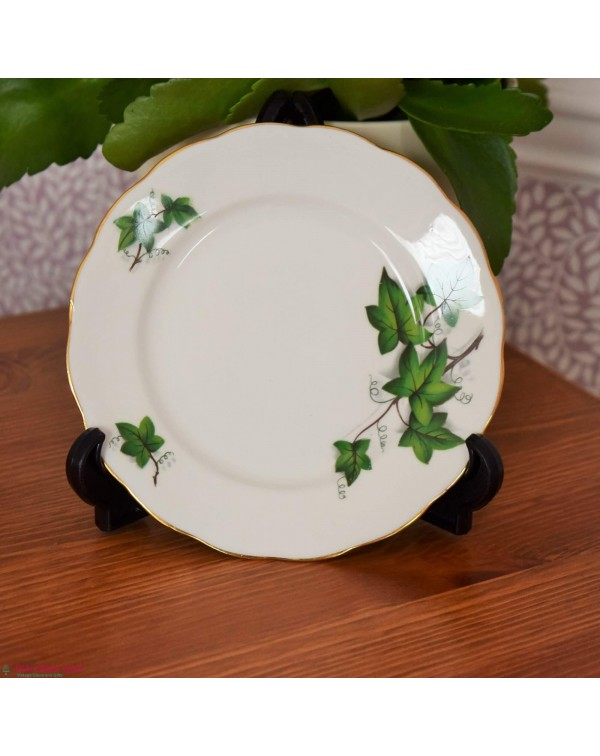 CROWN ROYAL IVY TEA PLATE