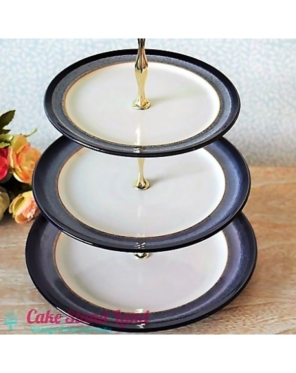 DENBY HEATHER CAKE STAND