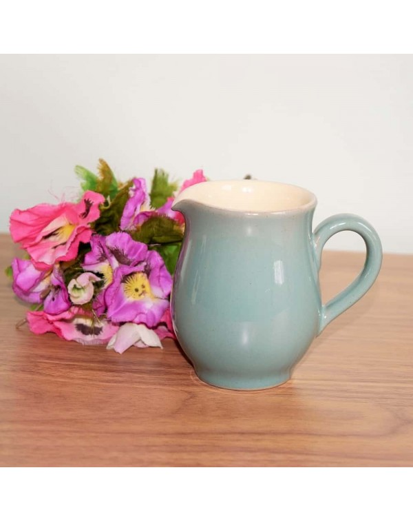 DENBY MANOR GREEN MILK JUG