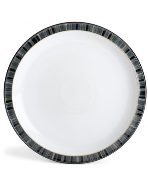 DENBY BLACK STRIPES CAKE STAND