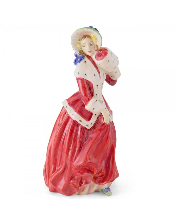 (OUT OF STOCK) HN 1992 ROYAL DOULTON CHRISTMAS MOR...