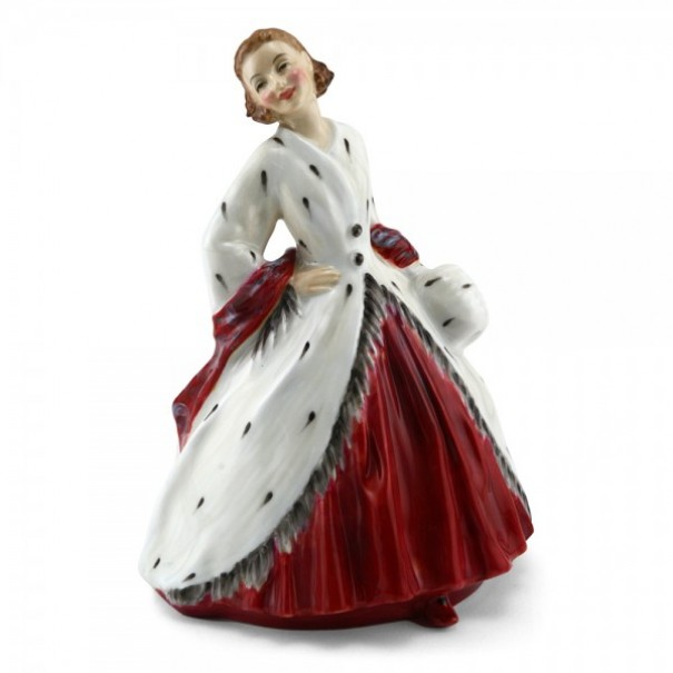 (OUT OF STOCK) HN 1981 ROYAL DOULTON THE ERMINE COAT
