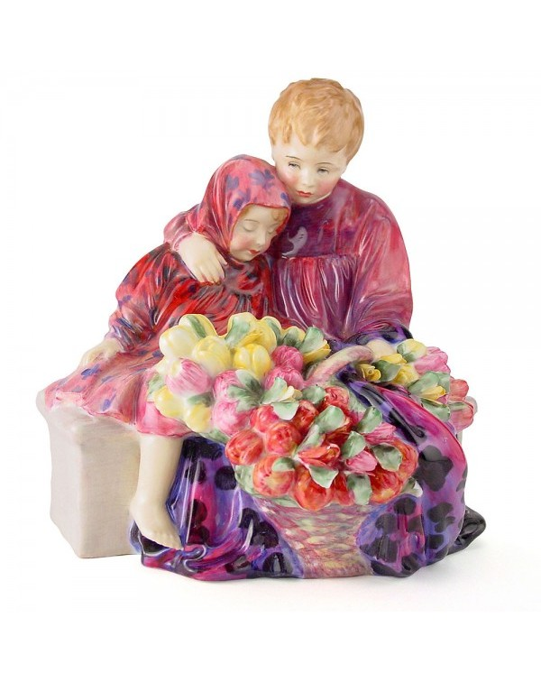 (OUT OF STOCK) HN 1342 ROYAL DOULTON FLOWER SELLER...