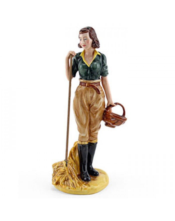 (SOLD) ROYAL DOULTON LAND GIRL HN 4361