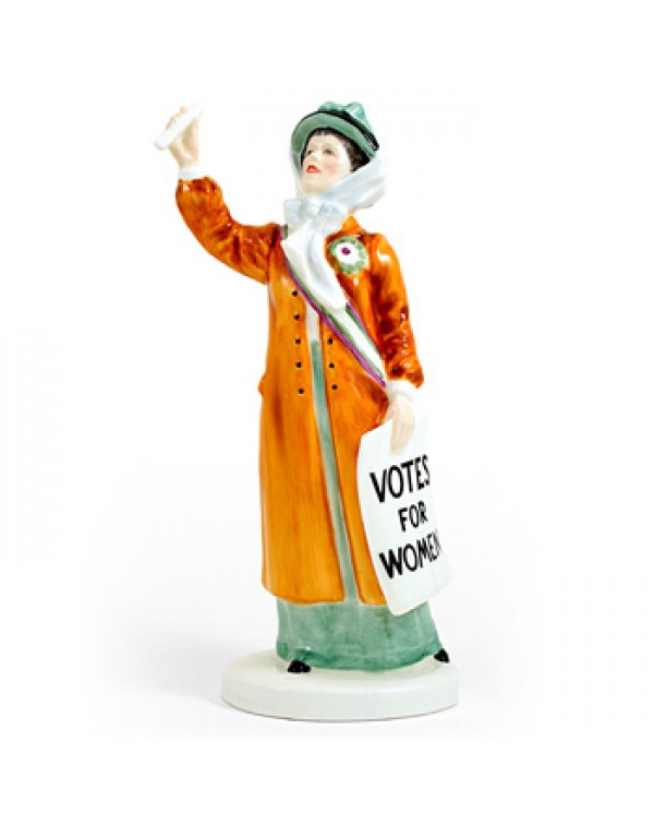 (SOLD) ROYAL DOULTON VOTES FOR WOMEN HN 2816