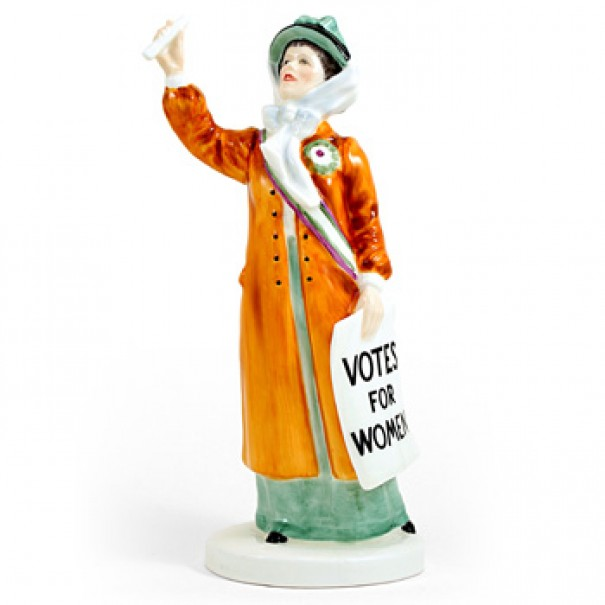 (SOLD) ROYAL DOULTON VOTES FOR WOMEN HN 2816
