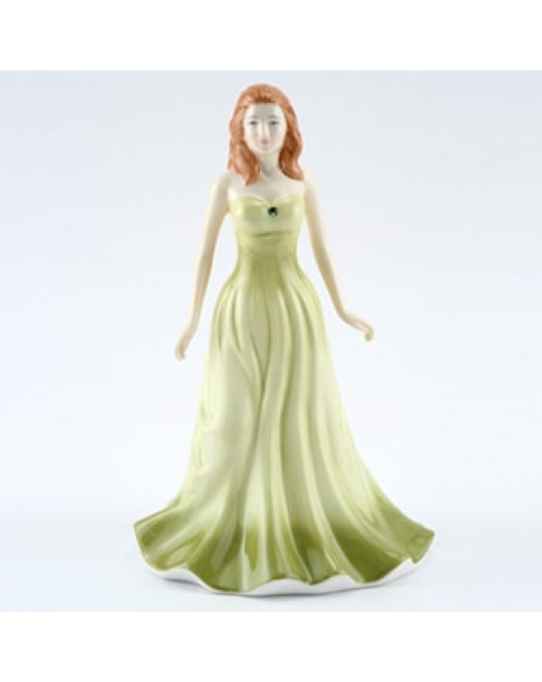 ROYAL DOULTON AUGUST PERIDOT FIGURINE