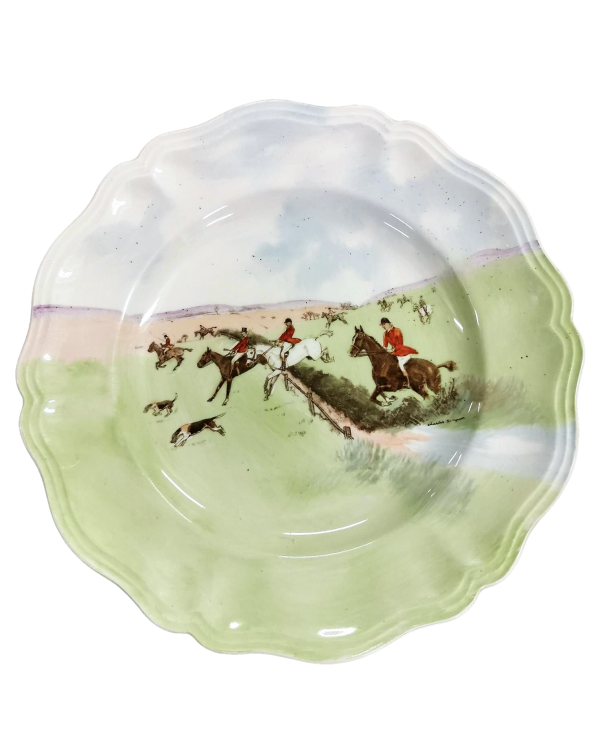 """ROYAL DOULTON """"OVER THE GRASS"""" PLATE"""