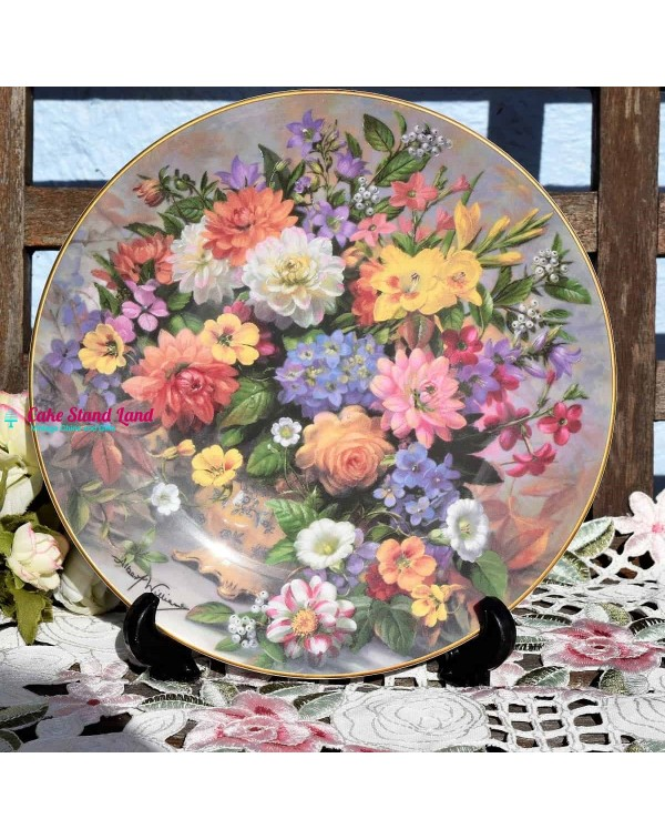 (SOLD) ROYAL DOULTON CLASSIC FLORALS AUTUMN