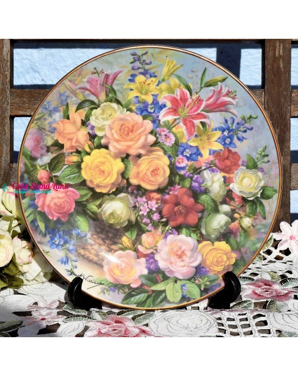 (SOLD) ROYAL DOULTON CLASSIC FLORALS SUMMER
