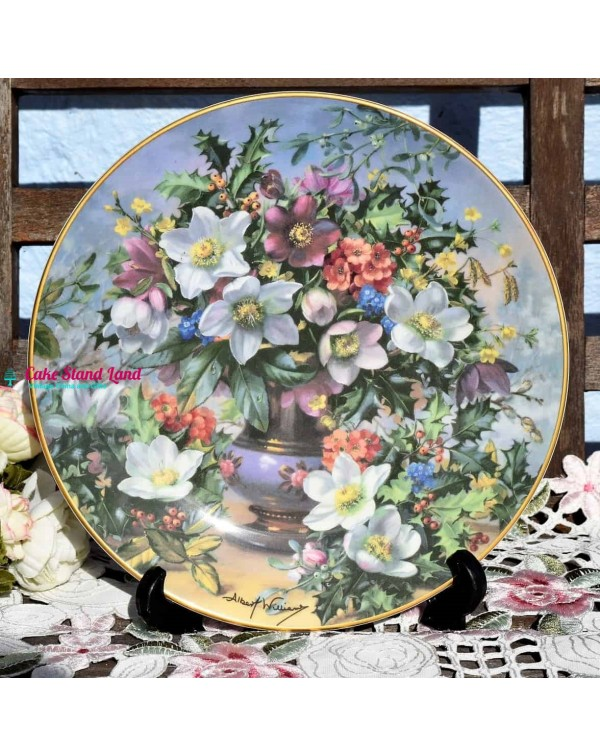 (SOLD) ROYAL DOULTON CLASSIC FLORALS WINTER