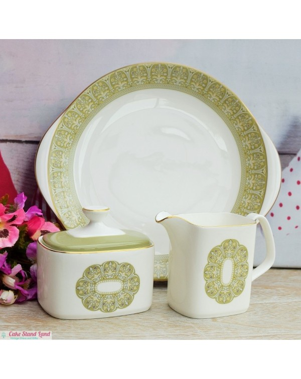 ROYAL DOULTON SONNET CAKE PLATE SET