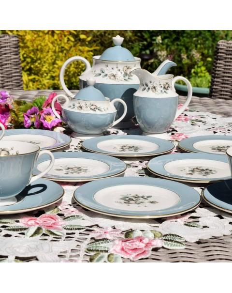 ROYAL DOULTON ROSE ELEGANS TEA SET