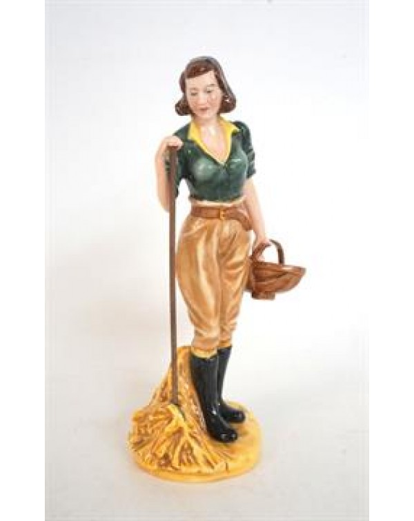 (OUT OF STOCK) ROYAL DOULTON LAND GIRL HN4361