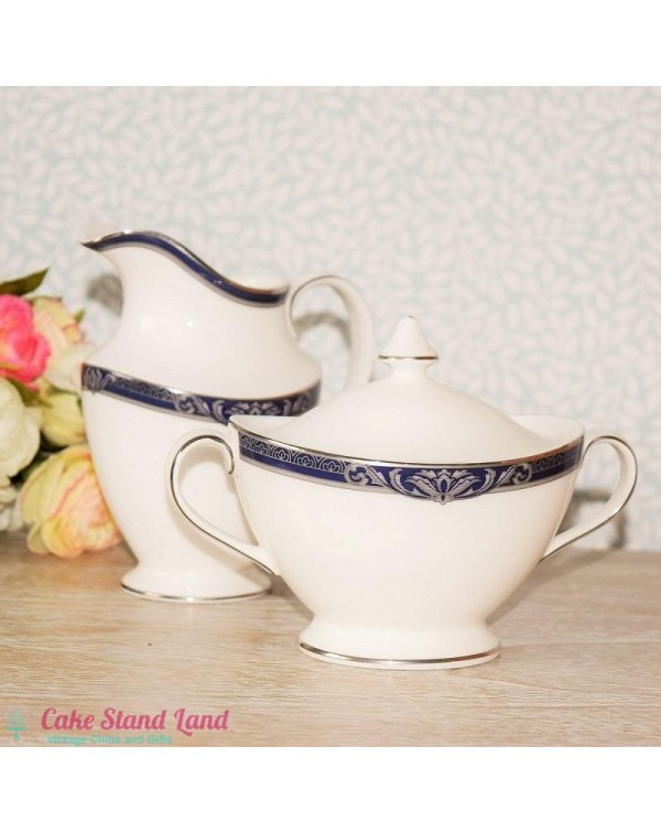 ROYAL DOULTON BYRON MILK JUG & SUGAR BOWL