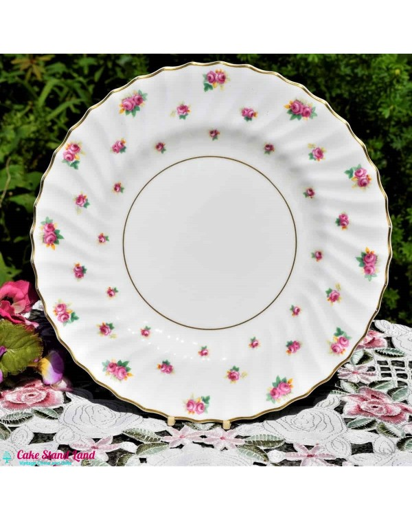 ROYAL DOULTON ROSE BUD DINNER PLATE
