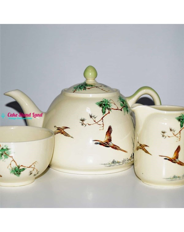 ROYAL DOULTON THE COPPICE TEAPOT SET