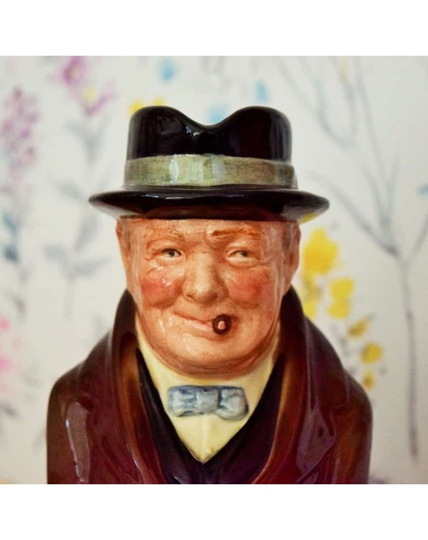 DOULTON CHURCHILL TOBY JUG
