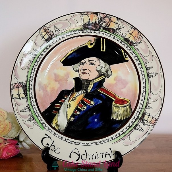 (OUT OF STOCK)  ROYAL DOULTON THE PROFESSIONALS PLATE THE ADMIRAL
