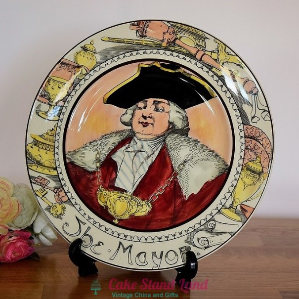 (OUT OF STOCK)  ROYAL DOULTON THE PROFESSIONALS PLATE THE MAYOR