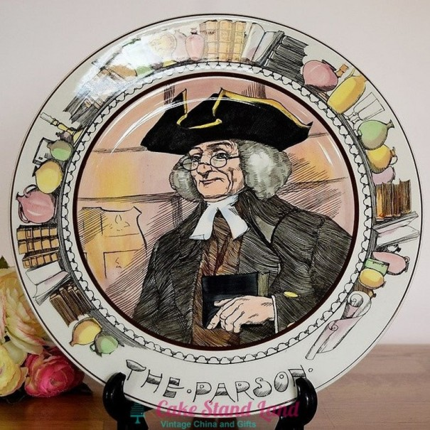 ROYAL DOULTON THE PROFESSIONALS PLATE THE PARSON