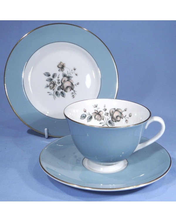 (OUT OF STOCK) ROYAL DOULTON ROSE ELEGANS TEA TRIO