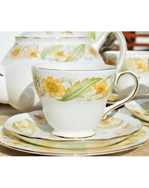 DUCHESS GREENSLEEVES TEA TRIO
