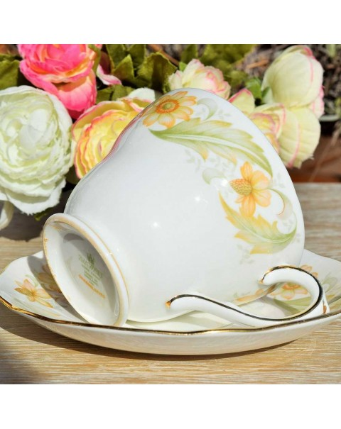 (OUT OF STOCK) DUCHESS GREENSLEEVES TEA CUP & SAUCER
