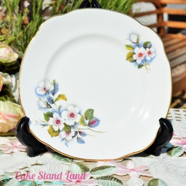 (OUT OF STOCK)  DUCHESS BLACKBERRY TEA PLATE