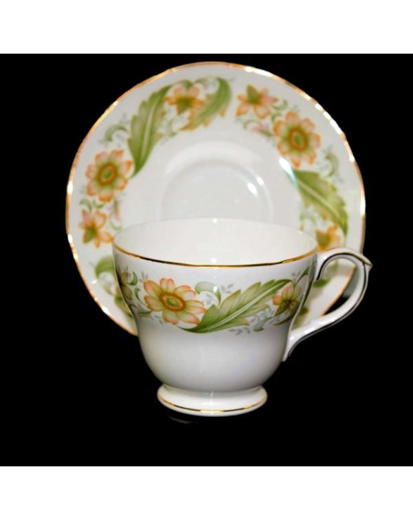 DUCHESS GREENSLEEVES TEA CUP & SAUCER