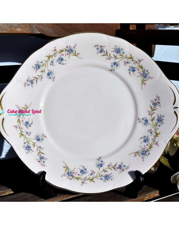 (SOLD) DUCHESS TRANQUILITY CAKE PLATE