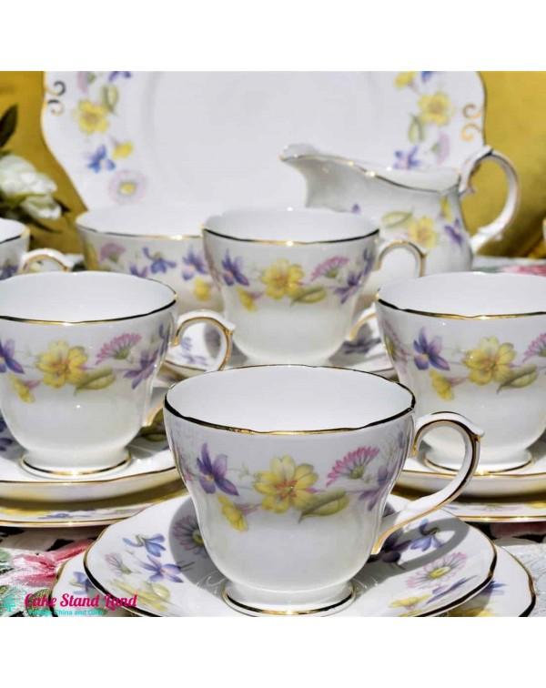 DUCHESS SPRING DAYS TEA SET