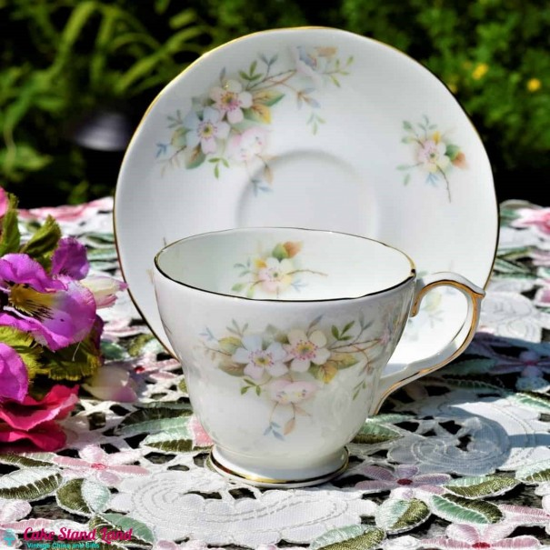 DUCHESS LANSBURY TEA CUP AND SAUCER