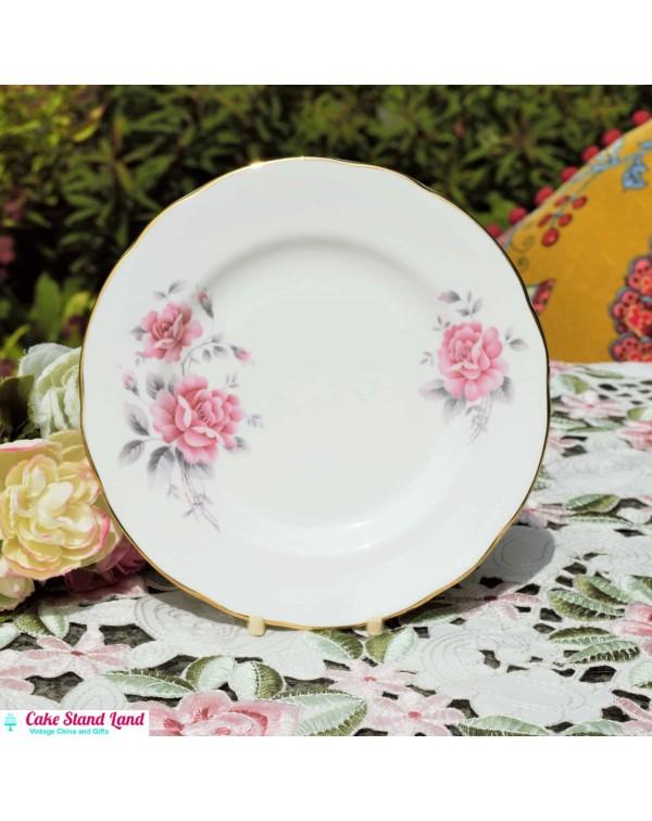 DUCHESS PINK TEA PLATE