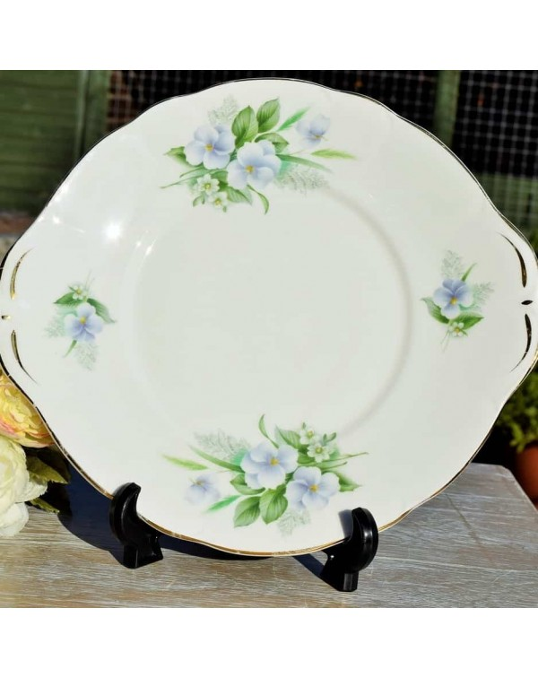 DUCHESS CLARE CHINA CAKE PLATE
