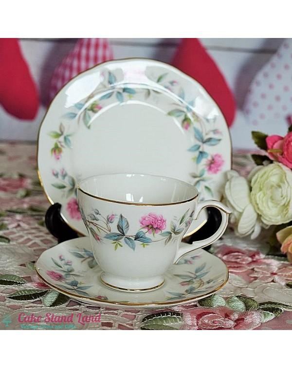 (OUT OF STOCK) DUCHESS BRAMBLE ROSE TEA TRIO