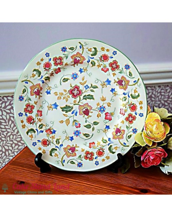 DUCHESS JACOBEAN VINTAGE DINNER PLATE