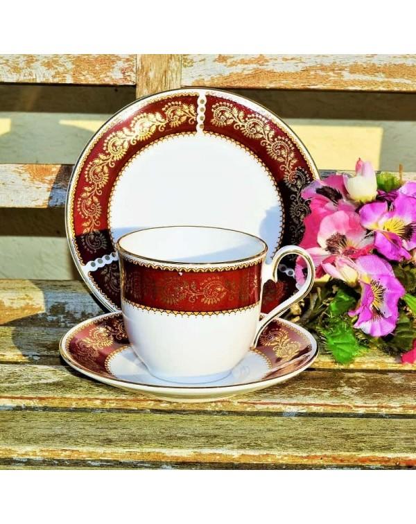 ELIZABETHAN RUBY TEA TRIO