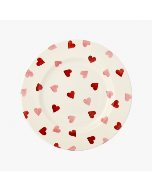 (OUT OF STOCK) EMMA BRIDGEWATER HEARTS DINNER PLAT...