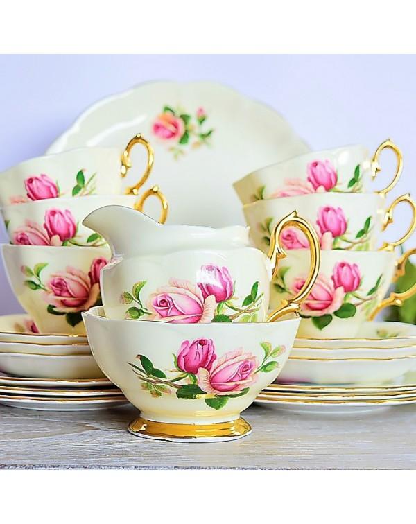 (SOLD) ROYAL ALBERT ENGLISH BEAUTY TEA SET