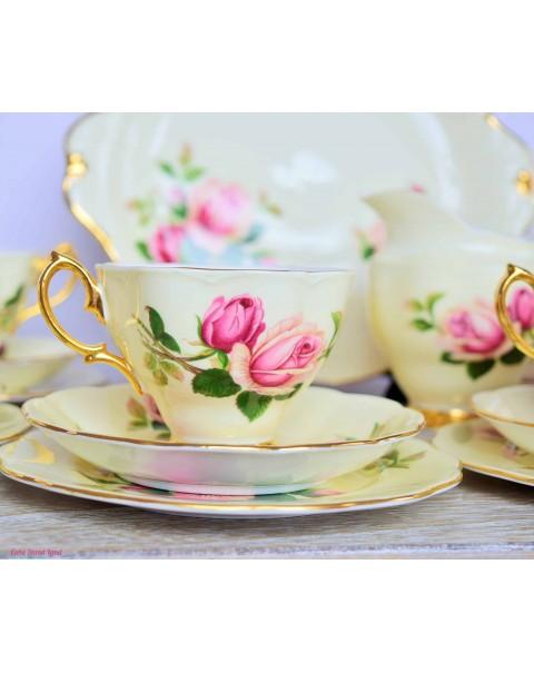 ROYAL ALBERT ENGLISH BEAUTY TEA SET