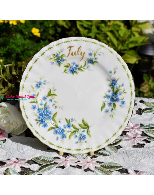 ROYAL ALBERT FLOWER OF THE MONTH  JULY